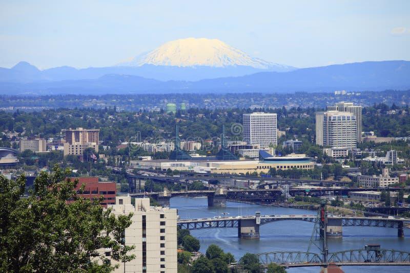 Portland u. Mt.-Str. Helen. lizenzfreies stockfoto