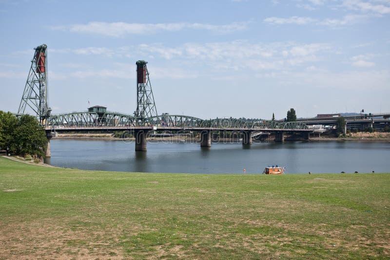 Portland-Ufergegend lizenzfreie stockfotografie