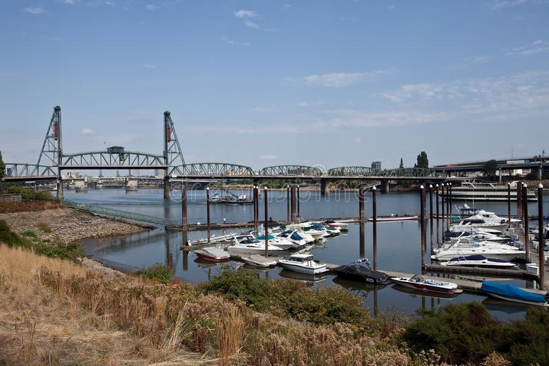 Portland-Ufergegend stockfoto