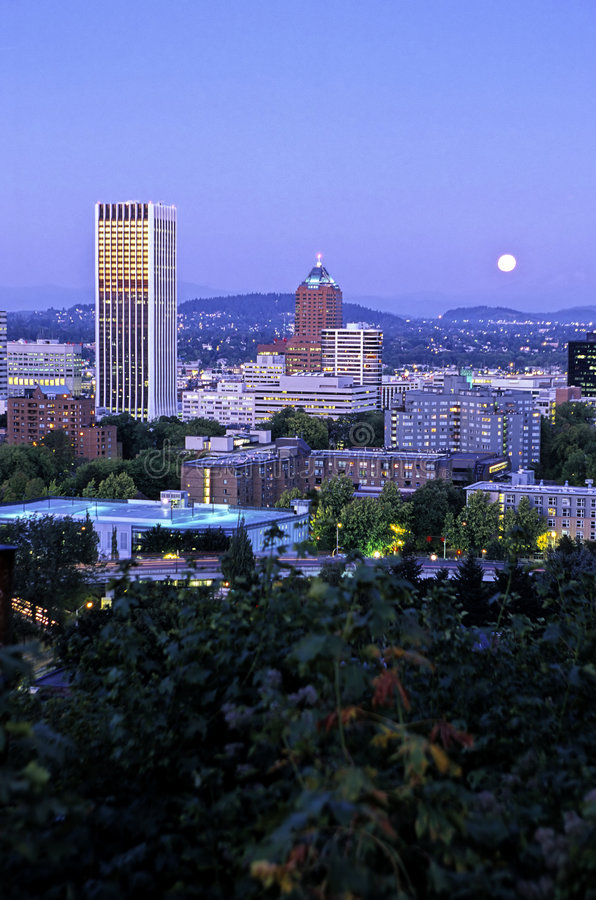 Portland usa oregon fotografia stock