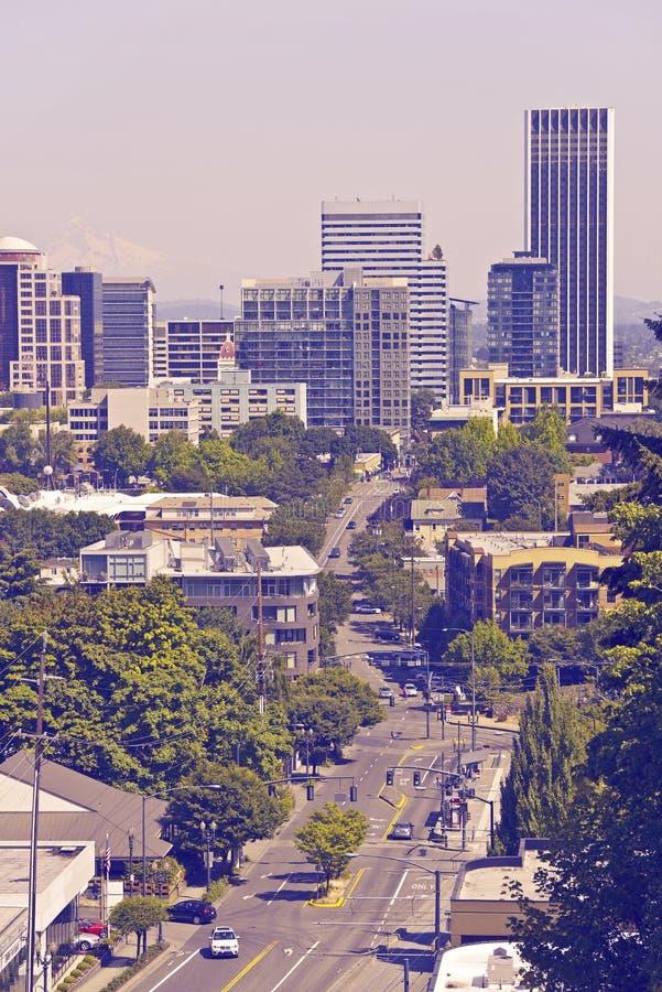 Portland Verenigde Staten stock afbeelding