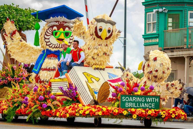 Portlandzka Uroczysta Kwiecista parada 2017 zdjęcie royalty free
