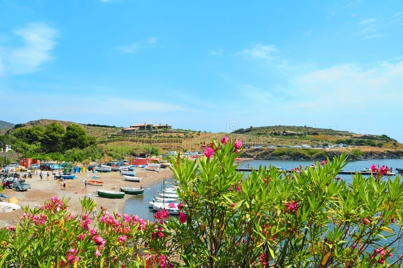 Portlligat, Cadaques, España fotos de archivo