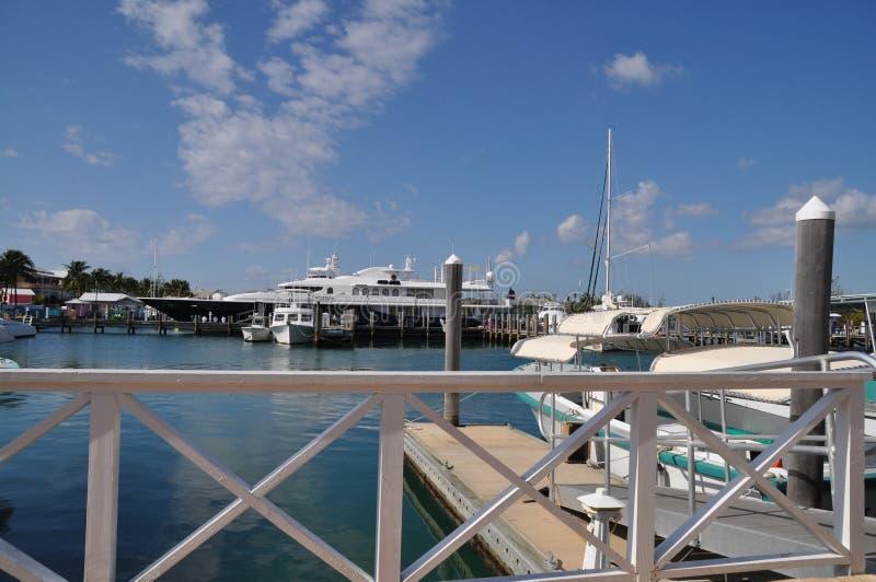 PortLucaya bei Bahamas stockfotografie