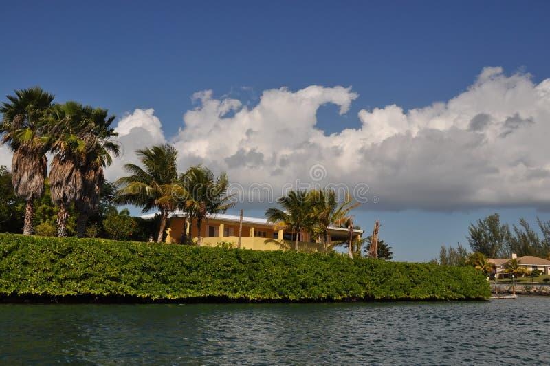 PortLucaya bei Bahamas lizenzfreie stockfotografie