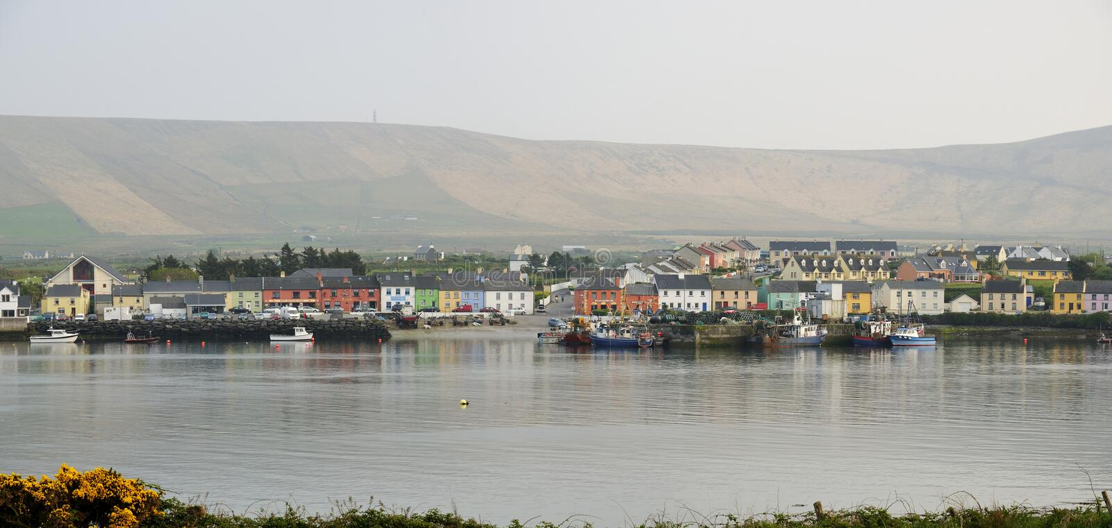 Portmagee Harbour royalty free stock image