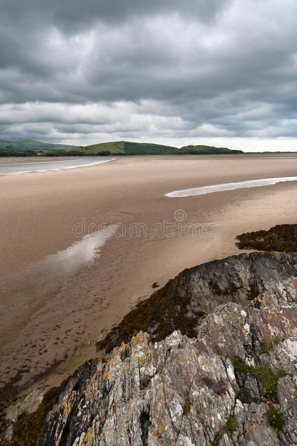 Download Portmeirion Estuary In Wales Stock Photo - Image of cloudy, rock: 21184894