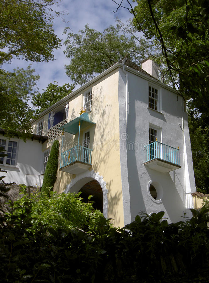 Portmeirion North Wales Cottage 1 royalty free stock photography