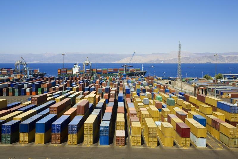 Porto fotografia stock libera da diritti