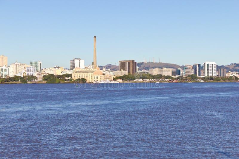 Porto Alegre port royaltyfri fotografi