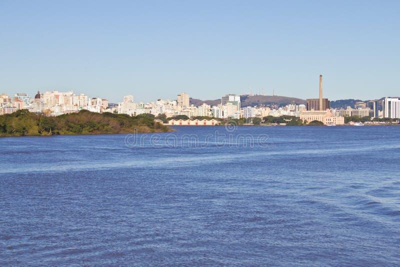 Porto Alegre port arkivbild