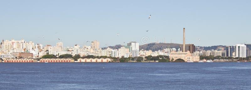 Porto Alegre port royaltyfria bilder