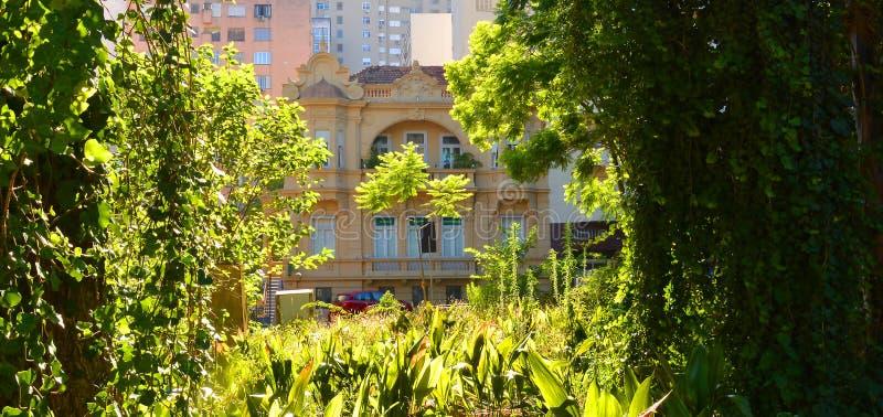 Porto ALegre, Rio Grande do Sul, Brasilien - 20/12/2019 - Matriz Square Praça da Matriz , Porto Alegre arkivbild