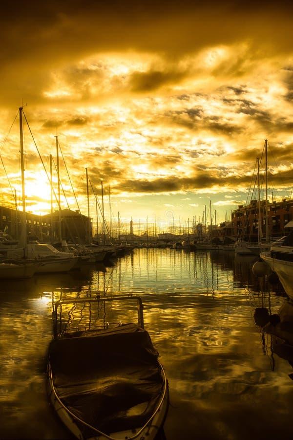 Porto Antico Gênes photo stock
