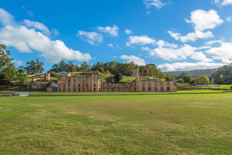 Porto Arthur Historic Site Tasmania immagine stock