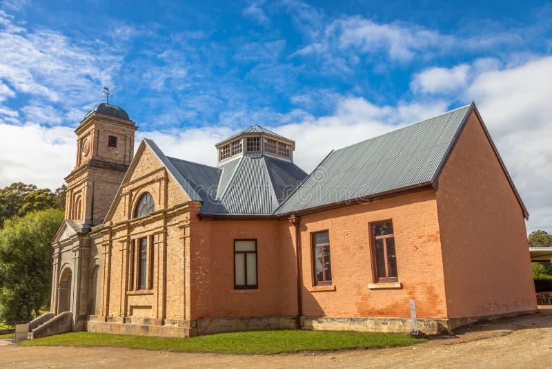 Porto Arthur Tasmania: L'asilo fotografie stock libere da diritti