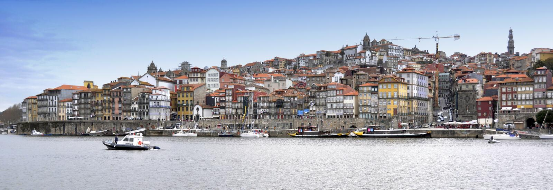 Porto au Portugal photos libres de droits