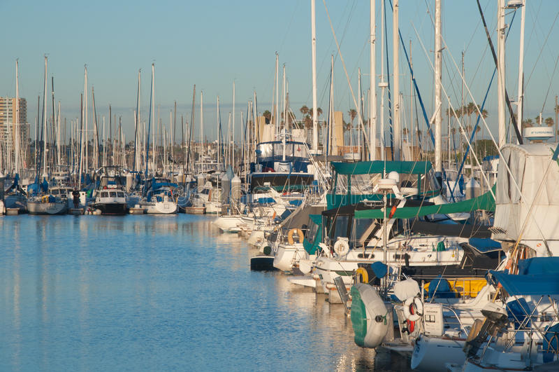 Porto azul fotografia de stock royalty free