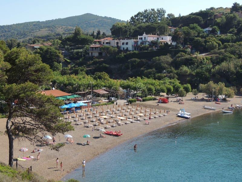 Porto Azzurro - Elba Island fotografia stock libera da diritti