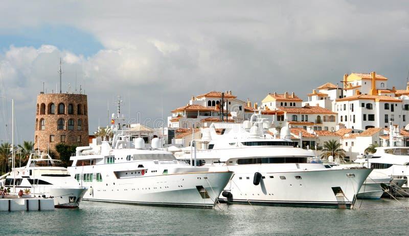 Porto Banus stock foto's