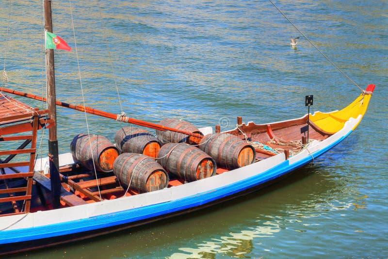Porto, bateaux de Rio Douro photo libre de droits