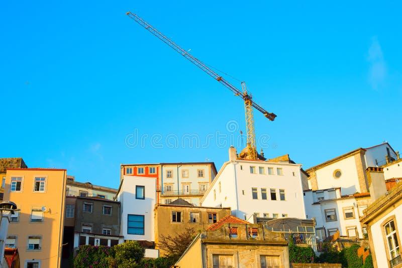 Porto budowa, Portugalia zdjęcie royalty free