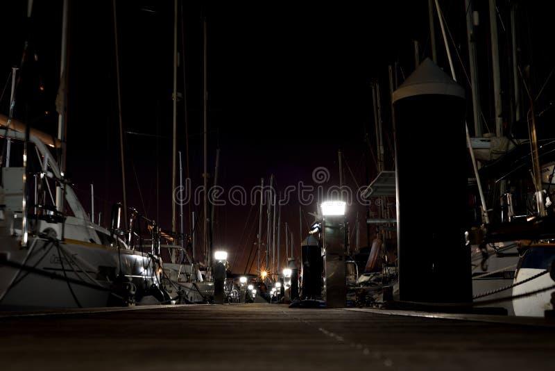 Porto Cartagine dell'yacht fotografia stock