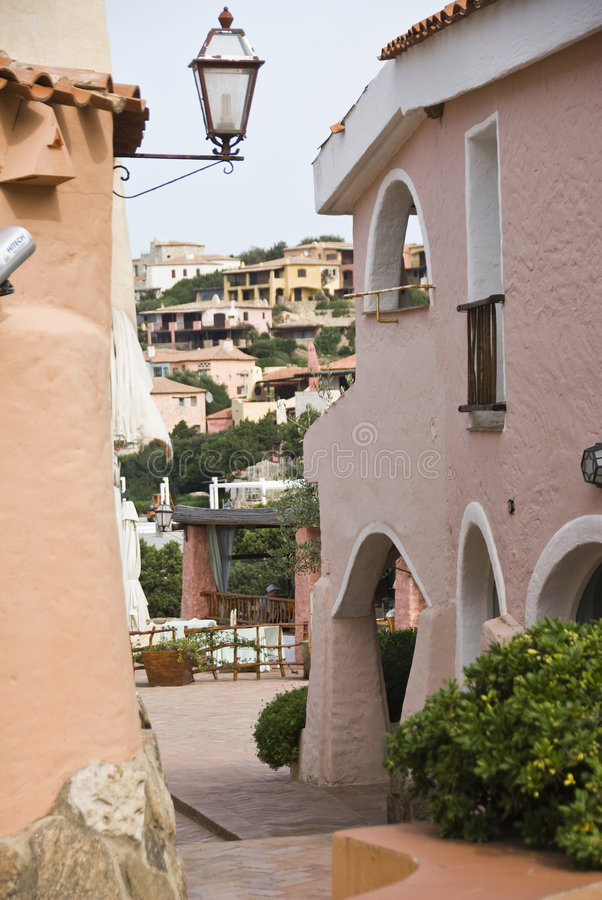 Porto Cervo stockbild