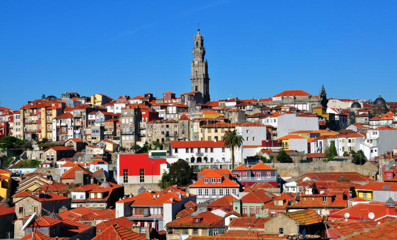 Download Porto stock image. Image of bell, exterior, cityscape - 35684067
