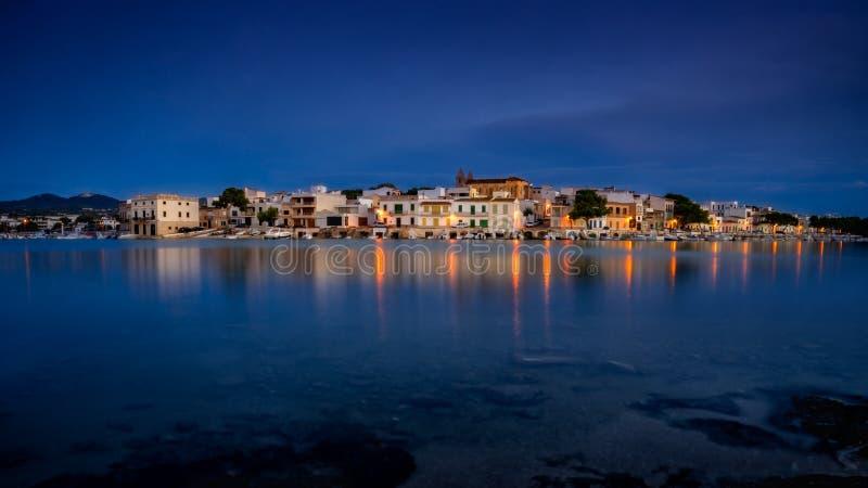 Porto Colom, Mallorca, Spanje royalty-vrije stock afbeelding