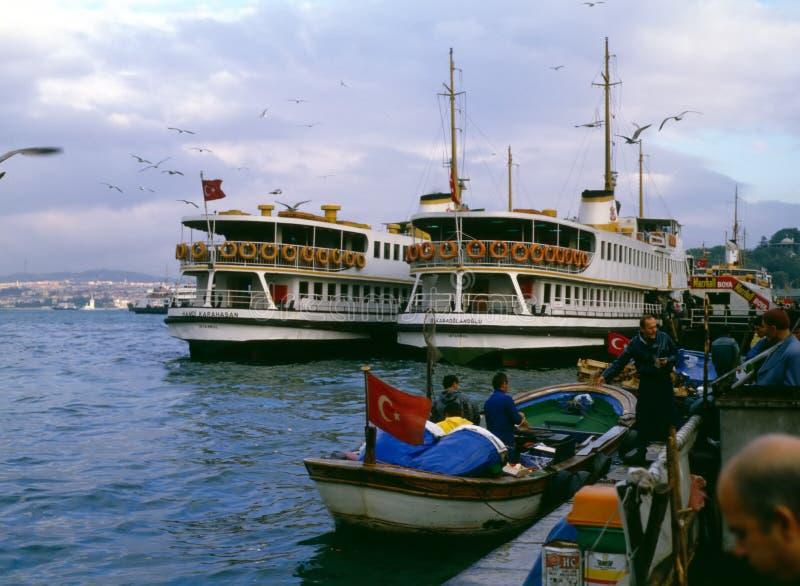 Porto, Costantinopoli, Turchia fotografie stock libere da diritti
