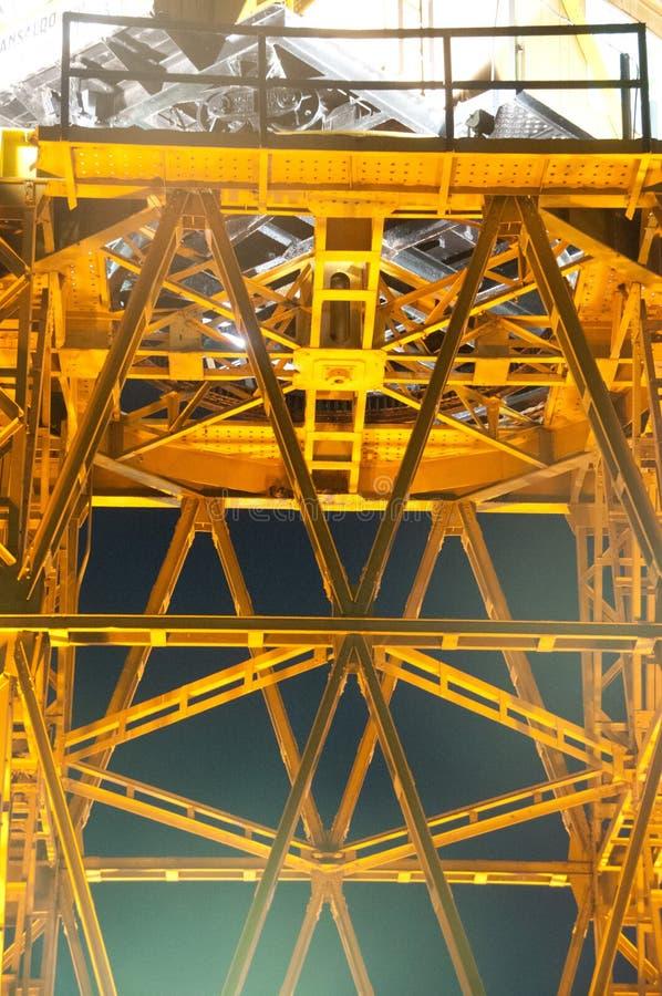 Porto Crane Detail imagem de stock royalty free
