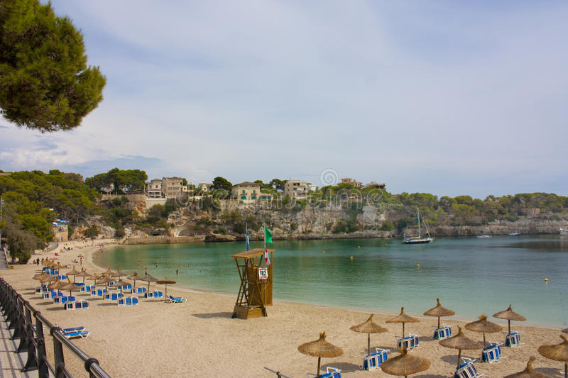 Download Porto cristo beach stock photo. Image of lifeguard, mediterranean - 11081418