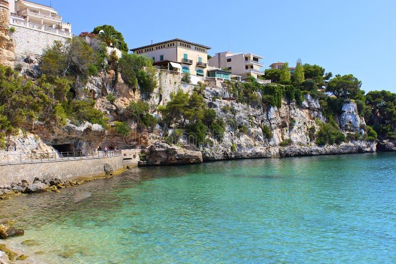 Porto Cristo, Mallorca, Spanje royalty-vrije stock foto's