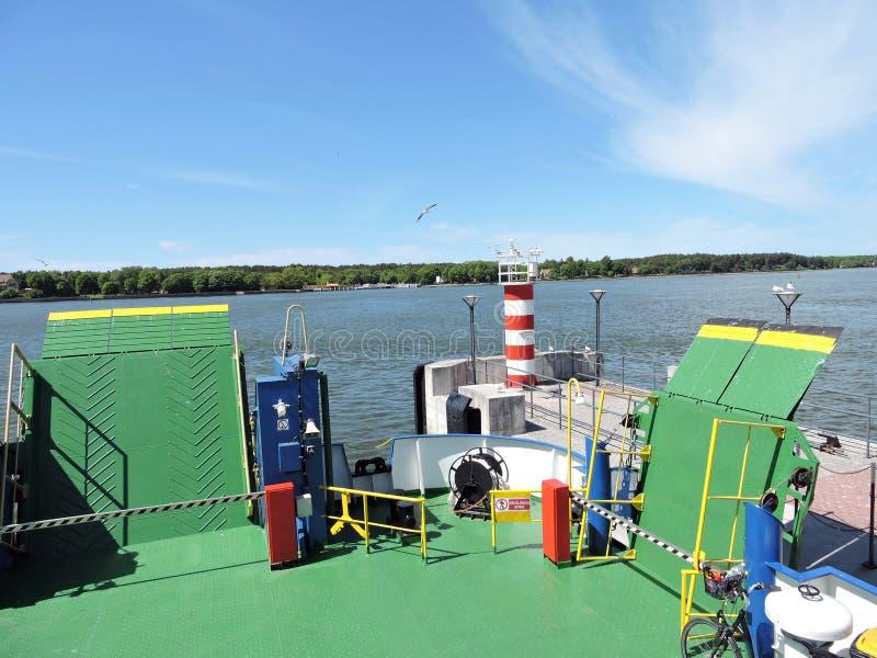 Porto da cidade de Klaipeda, Lituânia imagens de stock royalty free
