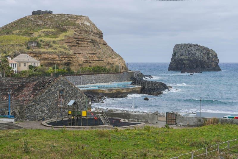 Porto DA Cruz lizenzfreies stockbild