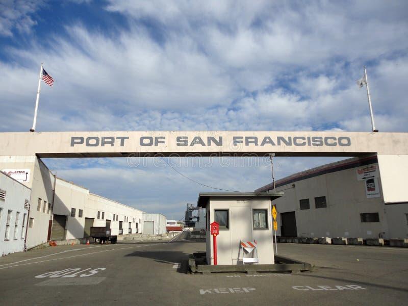 Porto da entrada de San Francisco fotos de stock royalty free