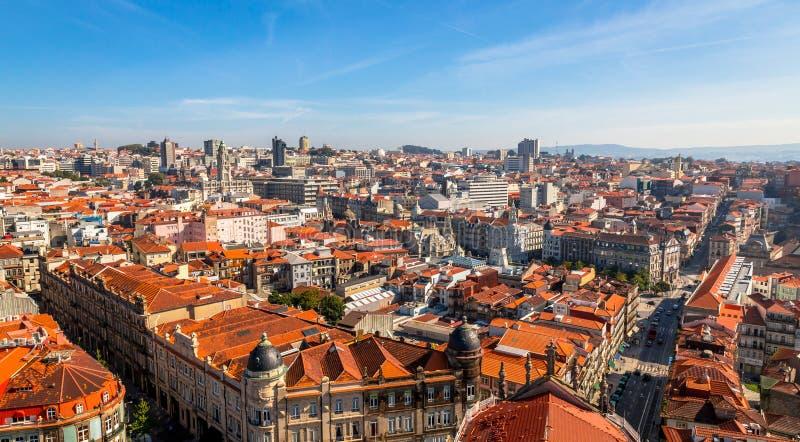 Porto dachy zdjęcia royalty free