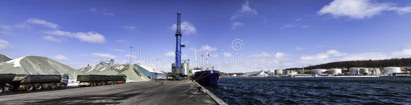 Porto de Aabenraa em Dinamarca fotografia de stock royalty free