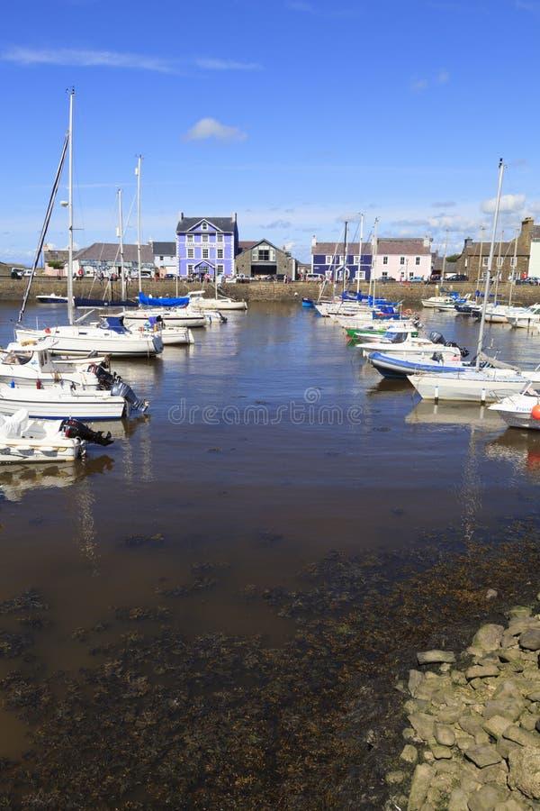 Porto de Aberaeron foto de stock royalty free