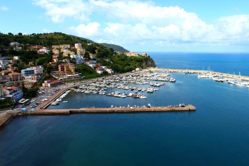 Porto de Agropoli, Salerno fotos de stock