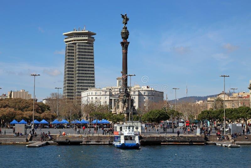 Porto de Barcelona, porto Vell da Espanha fotografia de stock royalty free