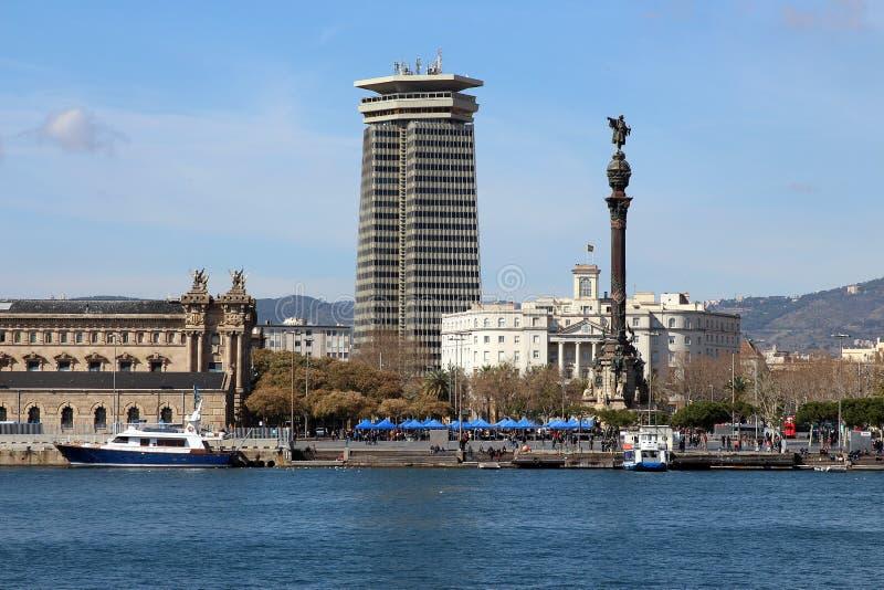 Porto de Barcelona, porto Vell da Espanha imagens de stock royalty free