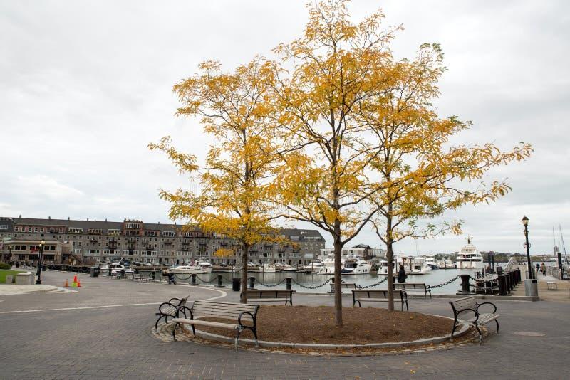 Porto de Boston foto de stock royalty free