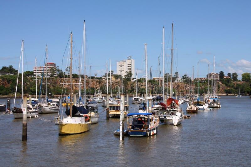 Porto de Brisbane foto de stock