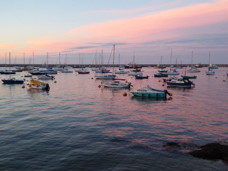 Porto de Brixham foto de stock royalty free