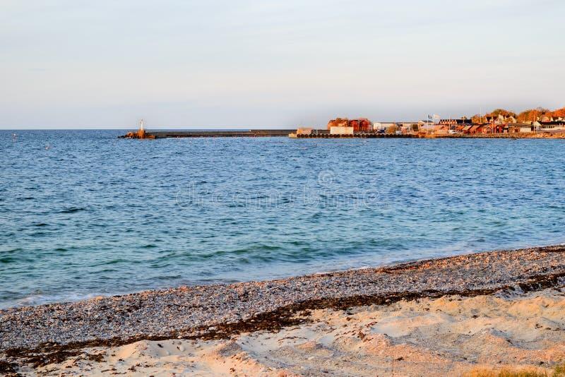 Porto de Byxelkrok fotografia de stock