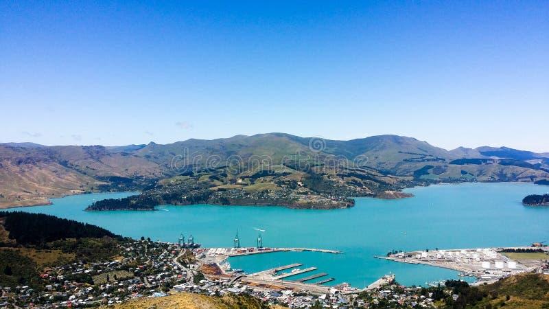 Porto de Christchurch fotos de stock
