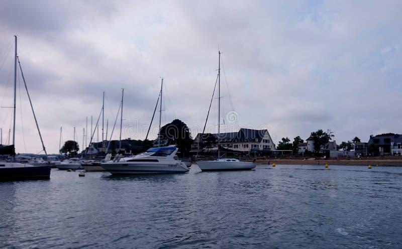 Porto de Conleau fotografia de stock royalty free
