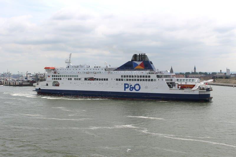 Porto de Dôvar, Inglaterra fotos de stock